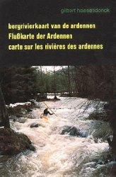 kaft van het Bergriviergids van de Ardennen boek