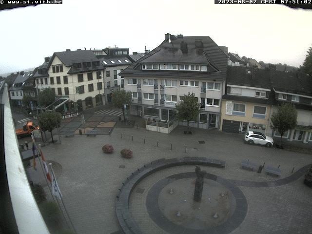 webcam beeld St. Vith - 520 m